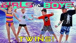 Waterpark Challenge! Boys VS Girls