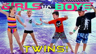 Waterpark Challenge! Boys VS Girls