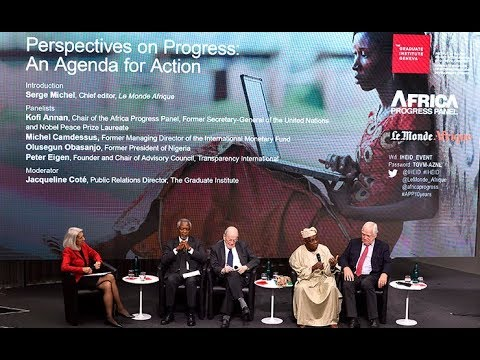 Perspectives on Progress: An Agenda for Action