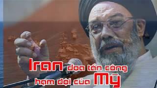 Iran dọa tấn công hạm đội của Mỹ