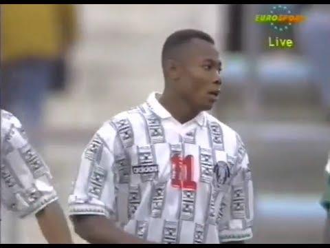 Emmanuel Amunike vs Zambia ● 1994 African Cup of Nations Final