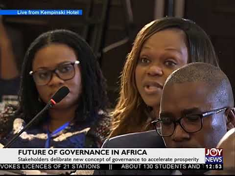 Questions & Answers Session - Future of Governance in Africa JoyNews (29-9-17)