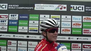 VM 2018: Caroline Bohé om linjeløbet