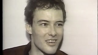 Jello Biafra on origin of name Dead Kennedys ('82) + Black Flag interview ('84)