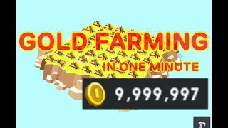 Pocket Build GOLD FARMING