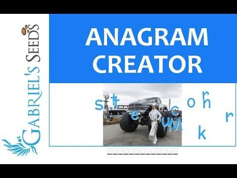 Anagrams For Kids | Anagram Generator