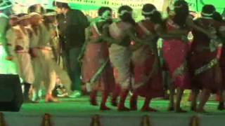 Chhattisgarhi Girls Folk Dance Song  in Jajwalyadev Mahotsava Raigarh CG.