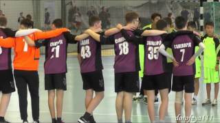 XVI Международный фестиваль гандбола в Тольятти (моменты игр)