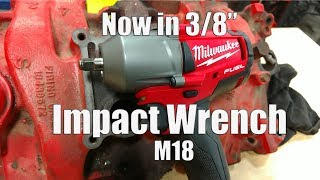 "Video Got 3/8"" Impact Sockets? Milwaukee M18 FUEL 3/8"" Mid-Torque Impact Wrench Review 