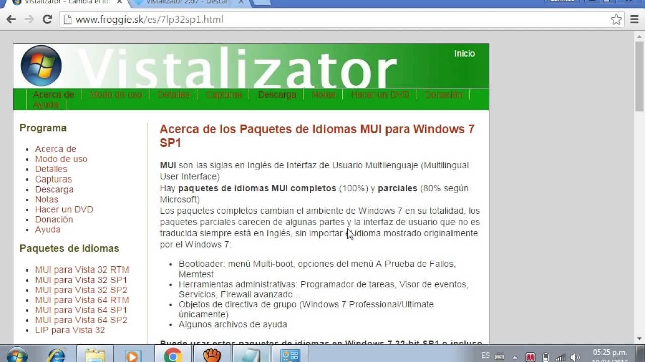 BIT TÉLÉCHARGER 7 64 GRATUIT WINDOWS VISTALIZATOR