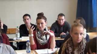 Students of Vocational School for Wholesale & Foreign Trade   Germany
