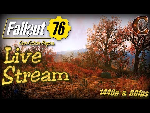 Fallout 76 PC Launch Party, Live Stream in 1440p / 60fps! Slow-Burn Strategy, Tips & Tricks thumbnail