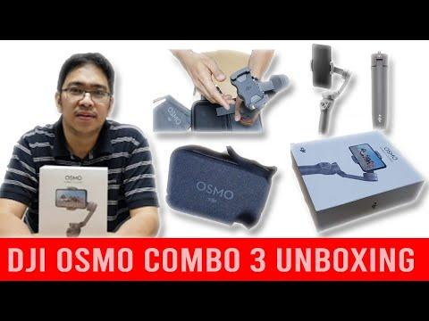 Unboxing DJI OSMO COMBO 3