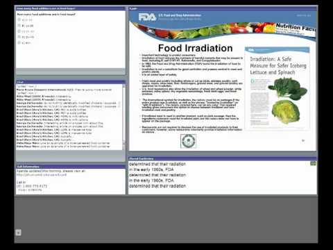CFSAN/JIFSAN Food and Nutrition Webinar - Indirect and Direct Food Additives ...