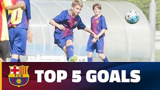 FCB Masia - Academy: Top 5 Goals (14-15 October)