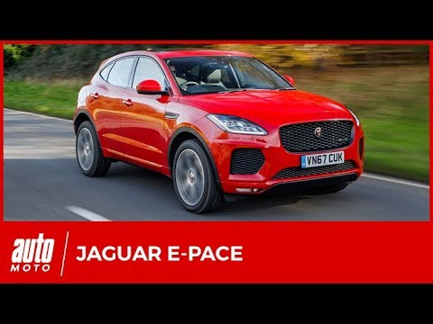 2018 jaguar e pace essai mi pudding mi haggis avis infos prix youtube. Black Bedroom Furniture Sets. Home Design Ideas