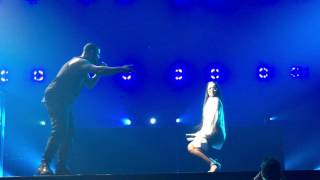 Work Live! Feat. Rihanna - Drake & Future Summer Sixteen Tour - Los Angeles 9.10.16