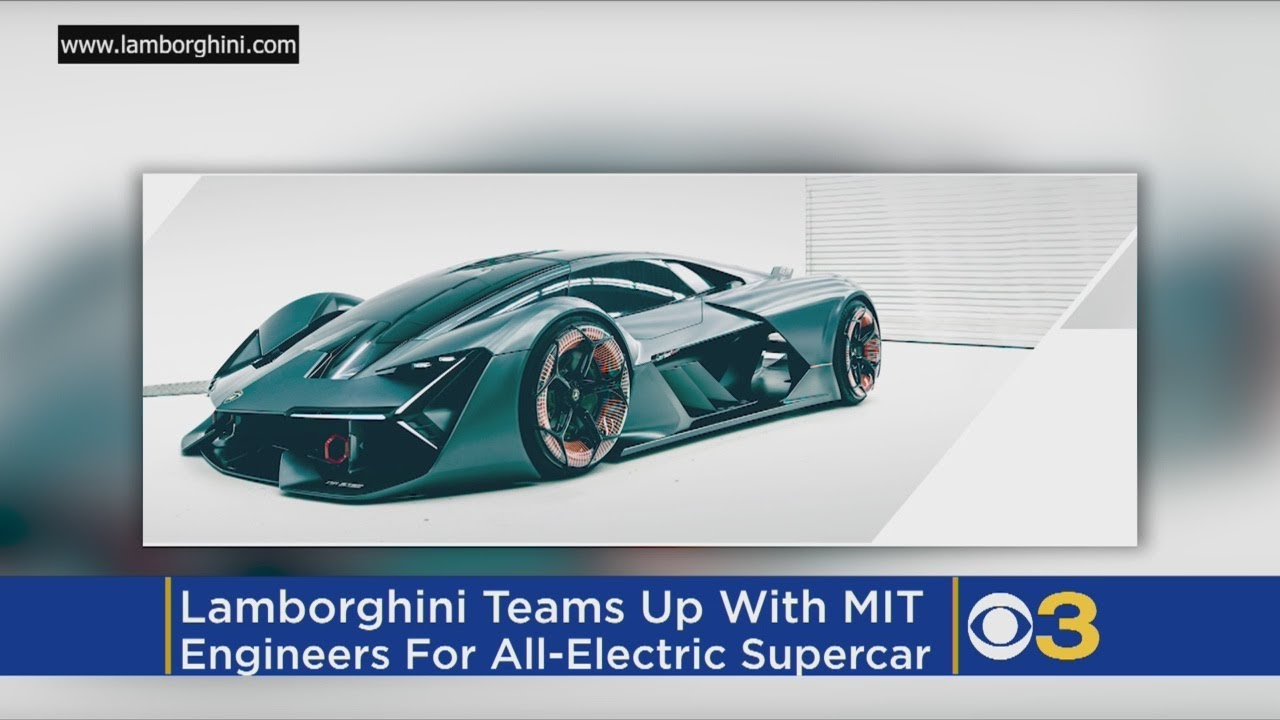 Lamborghini And Mit Team Up On Battery Free Electric Supercar Youtube