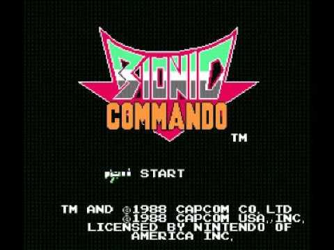 Bionic Commando (NES) Music - Area 1