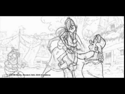 The SPA Studios | 'Asterix and the Vikings' Rough Animation