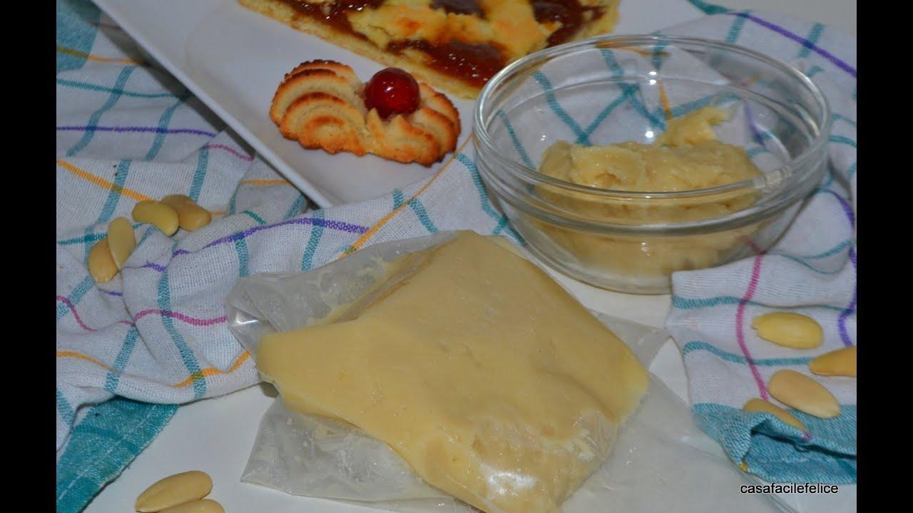 Ricetta della pasta reale di mandorle