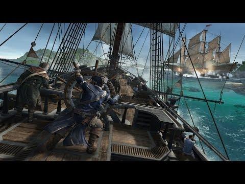 Assassin's Creed 3 Caribbean Sea Gameplay