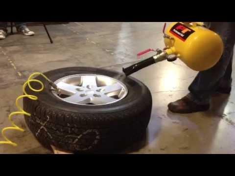 Pt Blaster Portable Tire Bead Seater W10012 Youtube