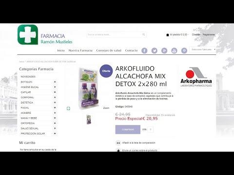 Alcachofa Mix Detox