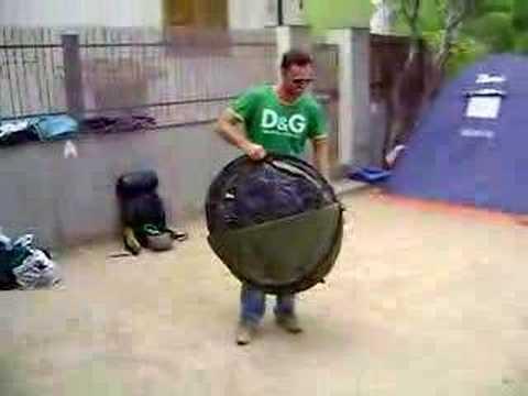 Repliage de ma tente 2 segonds iiii 4 places doovi - Tente uv decathlon ...