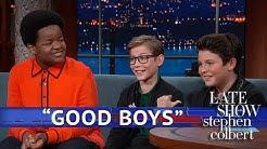 Jacob Tremblay, Brady Noon And Keith L. Williams Discuss Their First Kisses