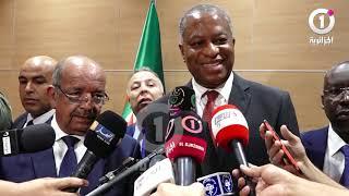 مساهل يرد على وزير خارجية نيجيريا بعدما خير الصحافة بأي لغة :  تحدث بالفرنسية رغم أنها لغة المستعمر