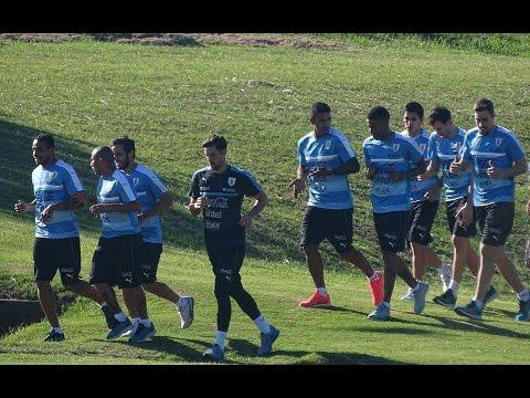 #Eliminatorias I Primer entrenamiento de Uruguay previo a enfrentar a Brasil