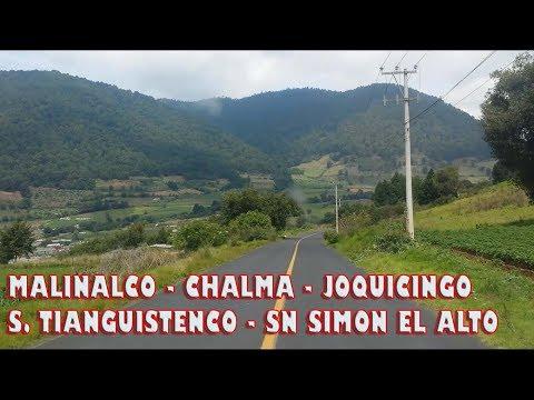 Como llegar a Malinalco, Chalma, Santiago Tianguistenco y Joquicingo