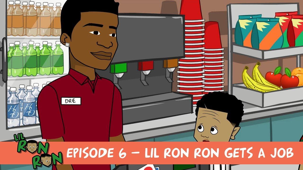 Lil Ron Ron Christmas.Lil Ron Ron Season 5 Ep 6 Lil Ron Ron Gets A Job