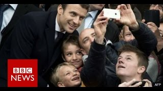 French election: How Macron defeated Le Pen to become president - BBC News