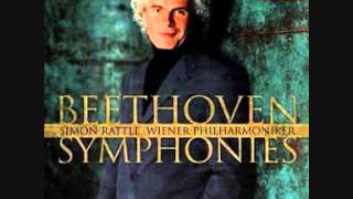 Sir Simon Rattle -  Beethoven -  Symphony No.  2 Mov.  IV