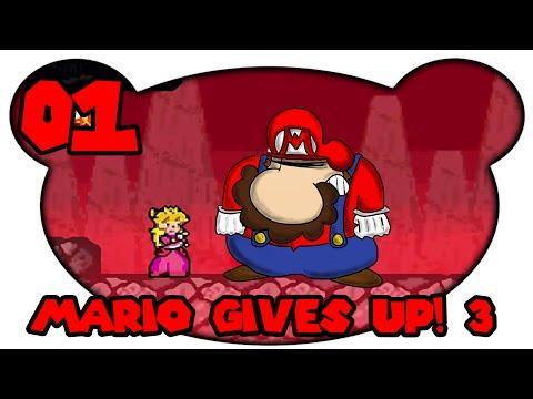 Mario Gives Up! 3 #01 - DIE SAU LEBT?! (Let's Play Deutsch Mettbaron Bruugar)