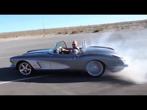 Exceptional Art Morrison 3G 1960 Corvette