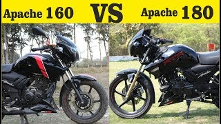 Tvs Apache RTR 160 VS Apache RTR 180 Which Is Best आपको कौन सी लेना चाहिए
