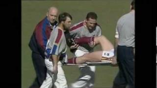 The Worst AFL Injuries