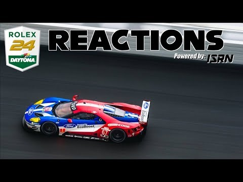 Rolex 24 @ Daytona Pt. 2 | LIVE Reactions Powered by ISRN