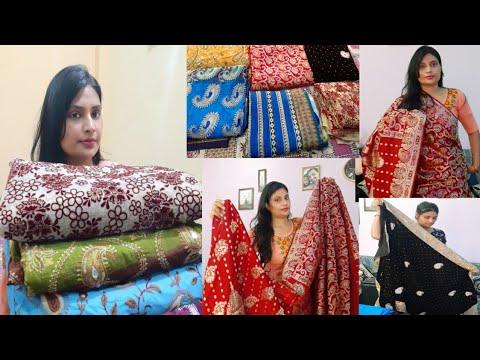 My Saree collection 2020 II Indian saree collection II Bengali saree collection II indian vlogger