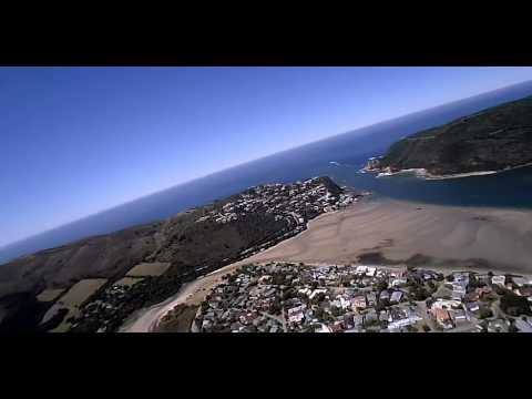 Knysna Paramotoring   Overflying The Heads   Buffels Bay and