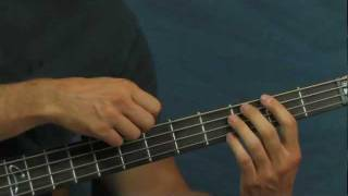 online bass guitar lesson green eyed lady sugarloaf