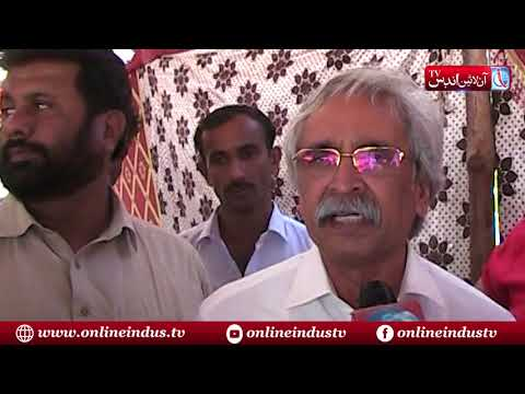 Lakhra Power House employees protest against administration