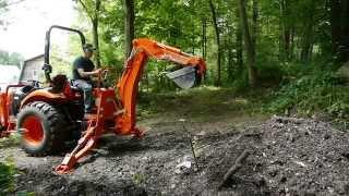 Kioti Tractor Backhoe Review
