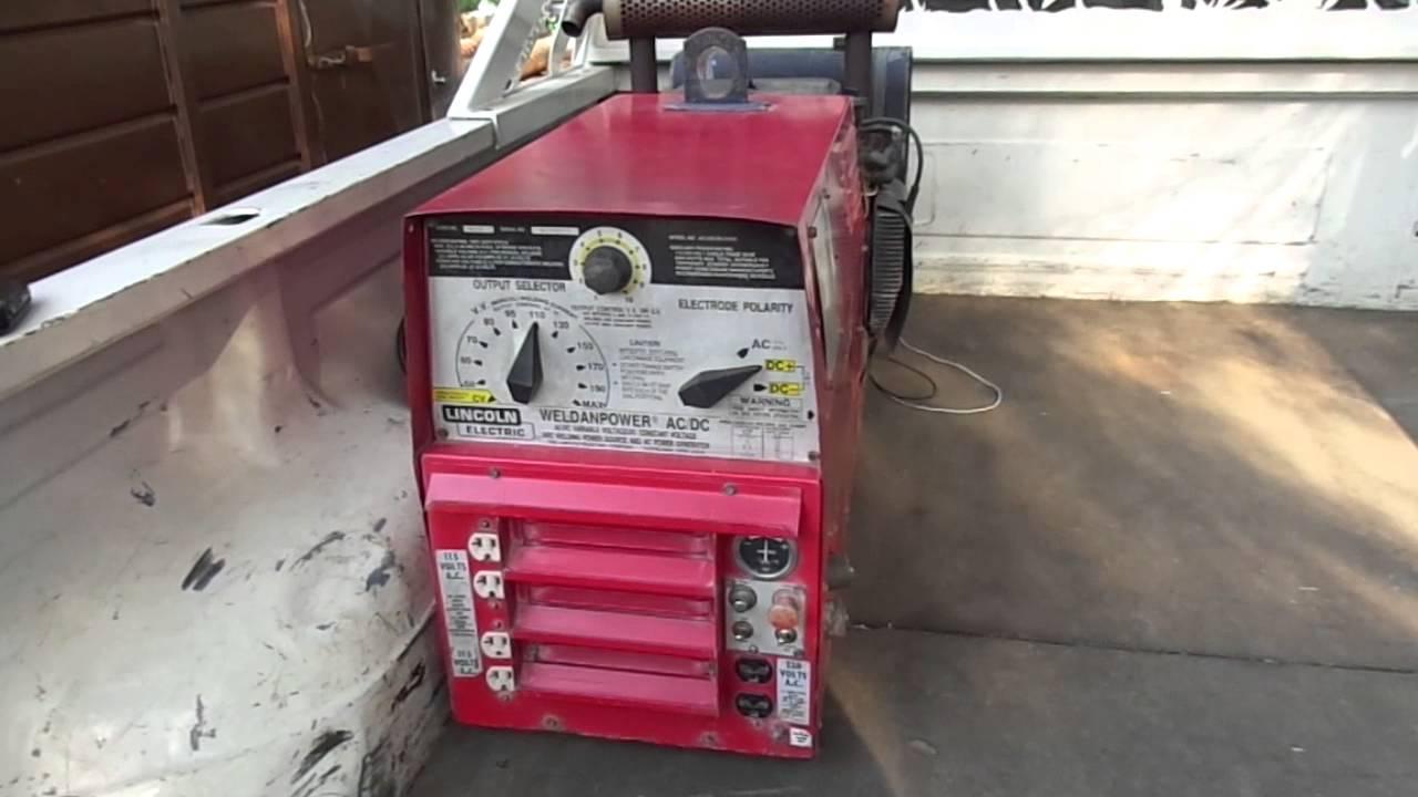 New weldanpower 225 on