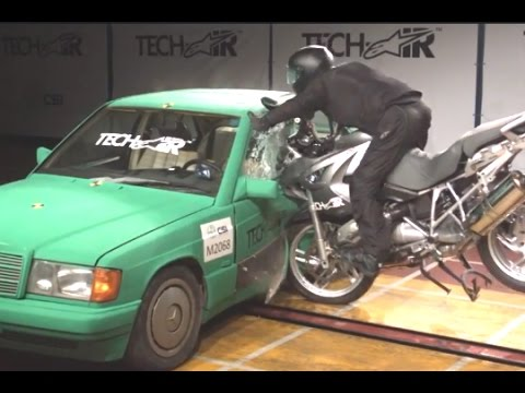 Alpinestars Tech-Air airbag crash test | Visordown Product Review