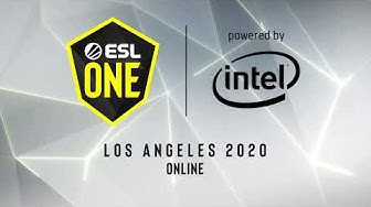LIVE: Evil Geniuses vs Quincy Crew - ESL One Los Angeles Online - Grand Final - NA