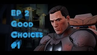 Batman Telltale Series Ep 2 Children of Arkham - Good Choices Part 1 (PS4)